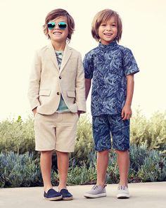 Smart sommerferie look til dine drenge @ H&M #Fisketorvet #CopenhagenMall #shopping #kidsfashion