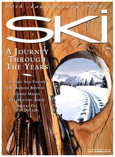 This throwback was a double throwback for the 60th anniversary issue — Ski Magazine December 1996