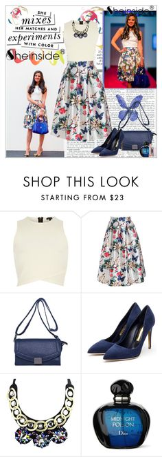 """""""SheInside III/6."""" by adanes ❤ liked on Polyvore featuring Kate Spade, River Island, Rupert Sanderson, women's clothing, women, female, woman, misses, juniors and Sheinside"""