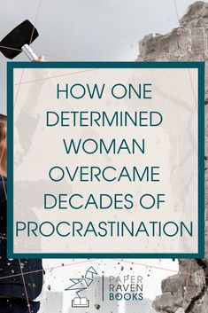 Are you procrastinating writing your book? Get inspired- read about how one woman finally stopped procrastinating to write the book of her dreams! Stop procrastinating and start writing! #productivity #writethebook #writeabook #selfpublishing
