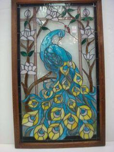 Buntglas-Panel Palais Royal Buntglas-Fenster Behang Fensterbehandlungen