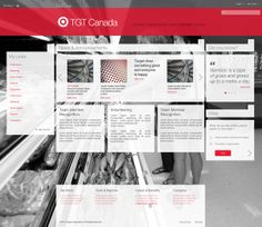 I like the use of an image for the background. This would be nice for the main landing page and for the larger subpages like nursing. Target Canada, Intranet Design, Work Tools, Growing Up, Announcement, Something To Do, Behance, Design Inspiration, Branding