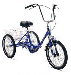 Get off now on Kent International Kent Adult Westport Folding Tricycle Tricycle Bike, Adult Tricycle, Trike Bicycle, Bicycle Tools, Trike Motorcycle, Three Wheel Bicycle, Bicycle Design, Bike Accessories, Vintage Bicycles