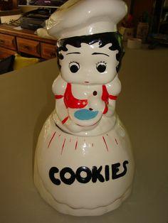 McCoy Betty Boop Cookie Jar