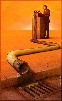 19 Illustrations satiriques de Pawel Kuczynski | Ufunk.net