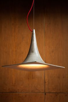 Cristián Mohaded Designs A Light Made From Concrete