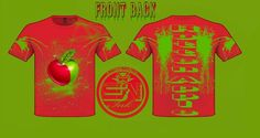 Rotten Apple t-shirt design by StreetWearinc.deviantart.com