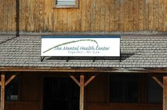 Outside shots of businesses and organizations in Livingston, Montana. The Mental Health Center. (a big shout out to you guys for keeping us sane!)