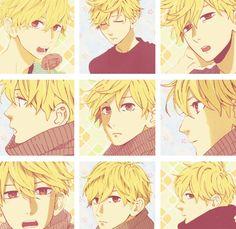 Daiki Mamura anime boy blond hair