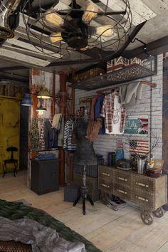 Casinha colorida: A vida imita a arte: um loft Rústico Chic como nas telonas