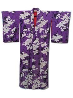 ☆ New Arrival ☆ 'Viola Beach' #enchanting women's #antique #purple #silk #kimono #peony #camellia #plum #floral #design from #FujiKimonohttp://www.fujikimono.co.uk/fabric-japanese/viola-beach.html #textile #costume #fashion #kawaii #cosplay #HammersmithVintageFair #HyperJapan