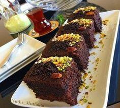Chocolate and cocoa wet cake recipe - yummy cake recipes Delicious Cake Recipes, Yummy Cakes, Cake Pricing, Cake Business, Pudding Cake, Turkish Recipes, Cake Ingredients, Chocolate Desserts, Cocoa Chocolate