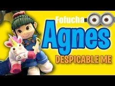 Fofucha Agnes cabeza (Mi villano favorito) - Agnes head (Despicable Me) - YouTube