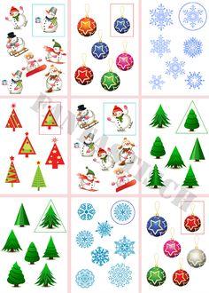 Új oktatási játék - Keressen egy pár Christmas Activities, Christmas Themes, Activities For Kids, Christmas Crafts, Crafts For Kids, New Year Diy, Tracing Sheets, New Year Is Coming, Autism Classroom