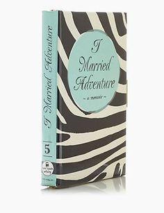Kate Spade New York I Married Adventure Book Emmanuelle