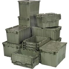 Quantum Storage Heavy Duty Attached Top Container U2014 21 X 15 X 17 Size