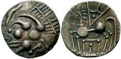 Gaul, Sotiates Celtic coin, ca. 150 BC