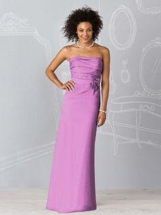 purple floor length dresses