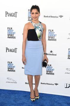 Pin for Later: Ne Manquez Pas le Tapis Rouge des Spirit Awards Freida Pinto