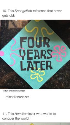 Should use that when I graduate 🎓 high school. Funny Graduation Caps, Graduation Cap Designs, Graduation Cap Decoration, Graduation Diy, High School Graduation, Graduate School, Decorate Cap For Graduation, Decorated Graduation Caps, Funny Grad Cap Ideas