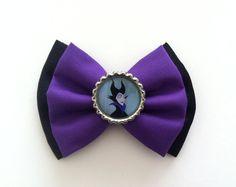 Maleficent Disney Villain Hair Bow  Sleeping Beauty