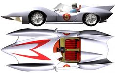 """""""mach 5"""" - Google Search Speed Racer Cartoon, Derby Cars, Car Posters, Classic Cartoons, Automotive Art, Ford Gt, Hot Cars, Car Pictures, Concept Cars"""