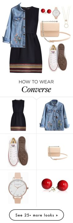 """""""style #64"""" by uyne-26 on Polyvore featuring Converse, Kate Spade, RED Valentino and Olivia Burton"""