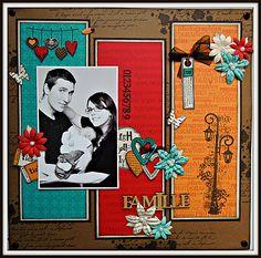 page Famille le scrap de sam