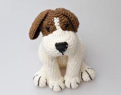 Amigurumi Lion Perritos : Elfin thread gaspard the french bulldog clown pdf amigurumi pattern