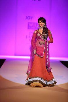 """Wills Lifestyle India Fashion Week AW '13"" Day 3 by Joy Mitra #Fashion #WillsLifestyle"