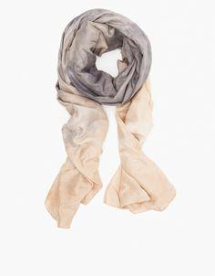 ++ silk habotai wrap scarf black tea / willow knows