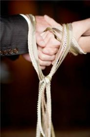 The Knot Ceremony (ritual of unity) is great for outdoor weddings and does not cost much to put together.
