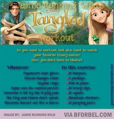 """The """"Tangled"""" Workout...lol..."""