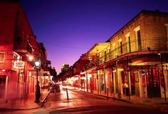 ... and we ended in New Orleans.