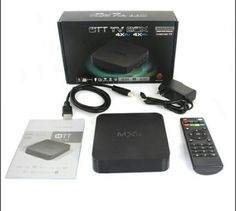 The newest box out, twice as fast as the top selling mx2. For streaming all content, videos, on demand, finally see what everybody is talking about. Quad Core processor for fast speeds, runs on the Android Operating System comes with XBMC Kodi 14 installed. These put the apple, amazon, and google tv
