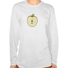 Red Apple Half I Love Pre K T Shirt, Hoodie Sweatshirt