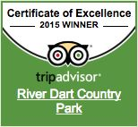 River Dart Country Park 2015 Certificate of Excellence Winner