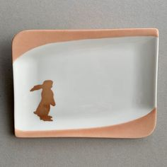 Hasenplättli Plastic Cutting Board, Porcelain, Gifts, Men, Fabrics, Schmuck, Porcelain Ceramics, Presents, Favors