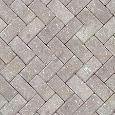 Textures - ARCHITECTURE - PAVING OUTDOOR - Pavers stone - Herringbone