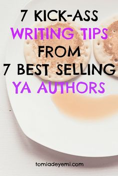 Post 1 - Writing Tips from YA Authors