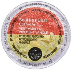 Seattles Best Coffee  Very Vanilla Kcup 16 Packs 1 Pack  16 Kcups * BEST VALUE BUY on Amazon
