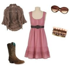 Cute country girl look