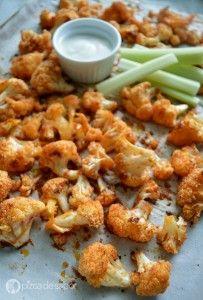 Boneless vegetarianos de coliflor www.pizcadesabor.com