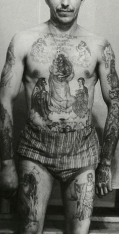 Criminal Tattoo History Amp Prison Tattoos Prison Tattoo - 236×464