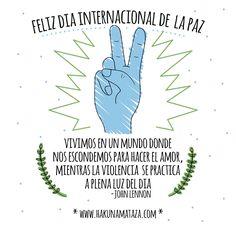 Feliz dia internacional de la paz
