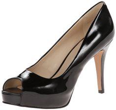 Nine West Women's Camya Peep-Toe Pump  #pumps #heels #black