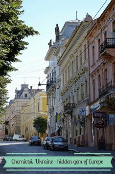 Chernivtsi, Ukraine - such a stunning and interesting city that no one knows about! A true gem of Europe.