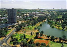 """Bloemfontein - The former capital of a Boer republic and now capital of the Free State, Bloemfontein - the name means """"flower fountain"""" - is a pretty city with thousands of rose bushes and some poignant memorials. Paises Da Africa, South Africa, African Countries, Countries Of The World, The Beautiful Country, Beautiful World, Wonderful Places, Beautiful Places, Free State"""