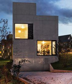 amrein herzig house in edlibach designboom