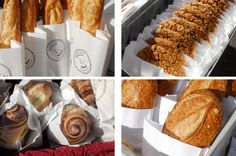 Sun Street Breads - french fries, biscuits and veggie mushroom gravy, baguettes - oh my; they have supper now!